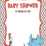 Free Dr. Seuss Baby Shower Invitation Template 150x150 - Free Printable Dr. Seuss Invitation Card