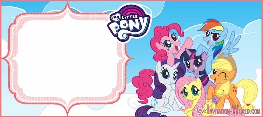 Free Printable My Little Pony Invitation - My Little Pony Invitation Templates 2019