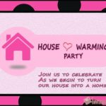 House Warming Party Celebration Invitation Template