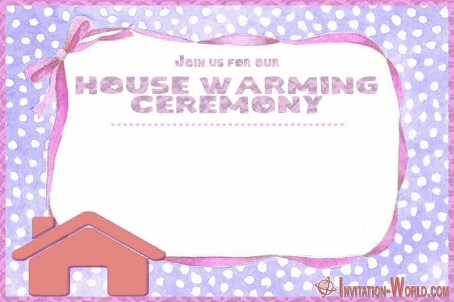 House warming invitation template - ❤️ Housewarming Party Invitations