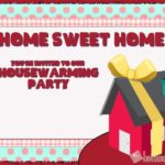 House-warming party invitation