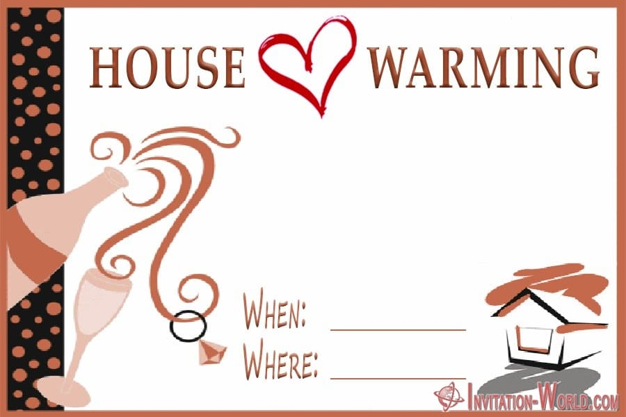 House warming party invitation free - ❤️ Housewarming Party Invitations