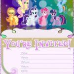 My Little Pony Birthday Invitation 150x150 - Pinkie Pie Free Invitation Template