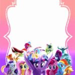 My Little Pony Invitation 150x150 - My Little Pony Invitation Card