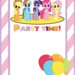 My Little Pony Party Invitation Template 150x150 - My Little Pony Invitation