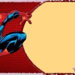 Free Personalized Spiderman Birthday Invitation