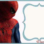 Free online birthday invitations – Spider-Man