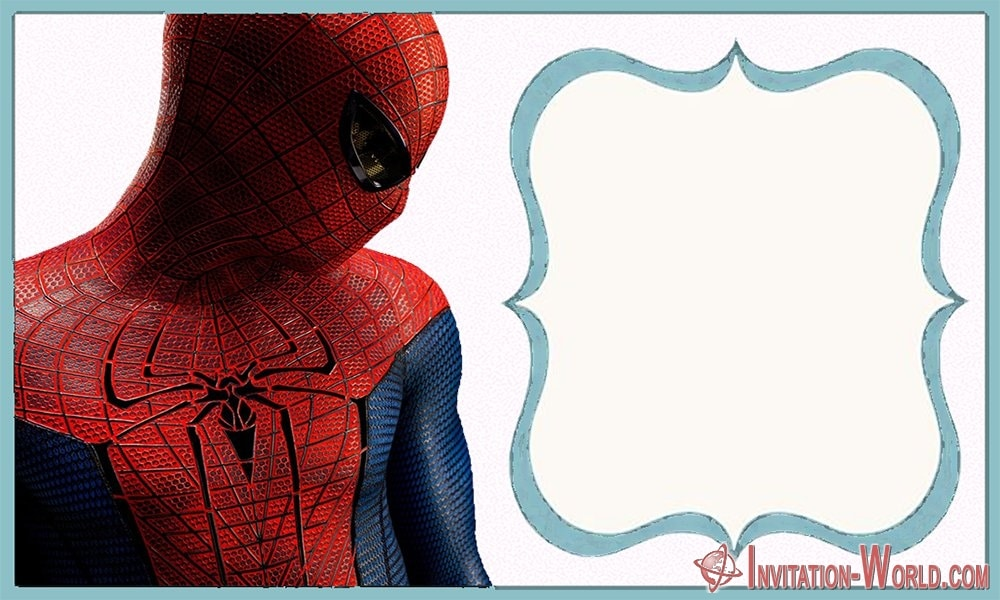 Free online birthday invitations Spider Man - Spider-Man Birthday Party Invitation Cards
