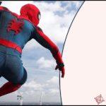 Spiderman Blank Invitation
