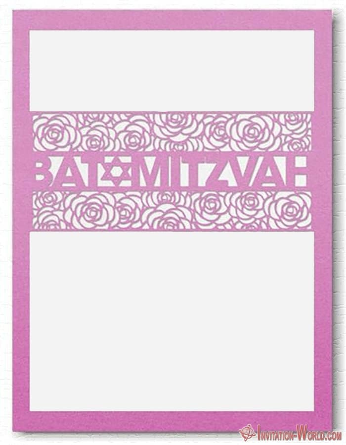 Bat Mitzvah Free Template - 8+ Bat Mitzvah Free Invitation Templates