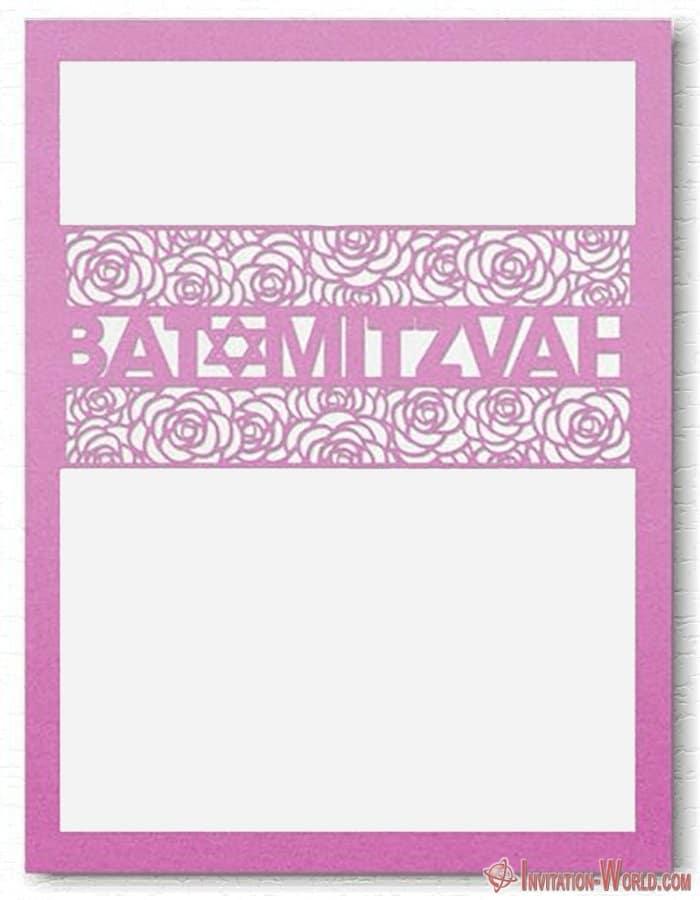 Bat Mitzvah Free Template - Bat Mitzvah Free Template