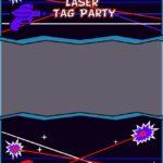 Free Laser Tag Invitation Template