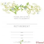Free Printable Retirement Invitation Template