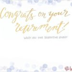 Free Retirement Invitation Template