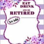 Funny Retirement Invitation