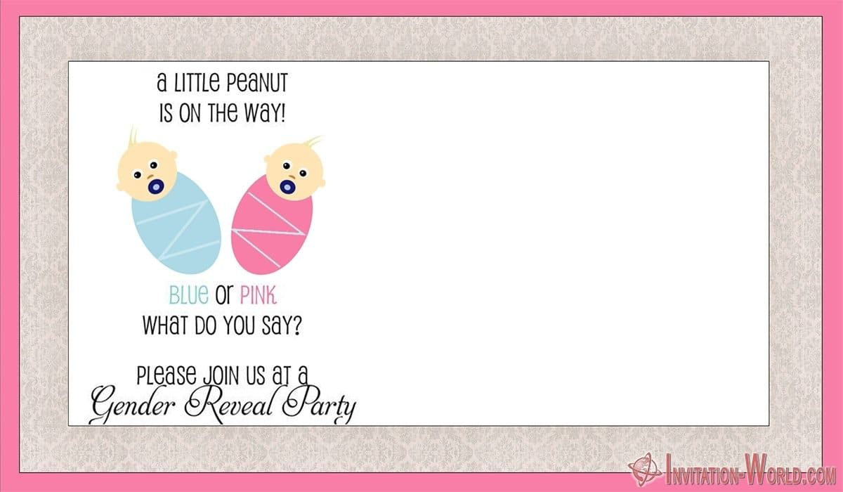Gender Reveal Invitation Template 1200x700 - Gender Reveal Invitation Templates