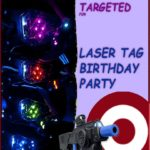 Laser Tag Birthday Invitation 150x150 - Laser Tag Invitation Card