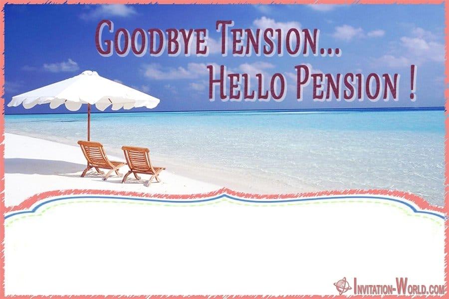 Retirement Invitation Template Free - Retirement Party Invitations