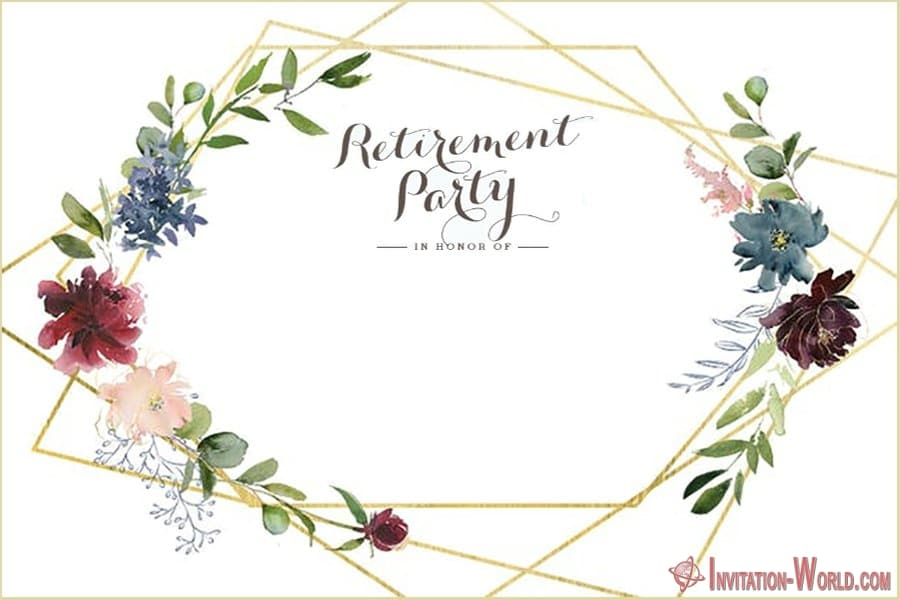 Retirement Invitation - Retirement Party Invitations