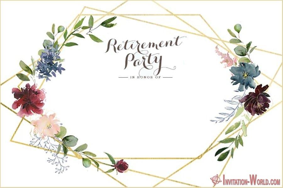 Retirement Invitation - Retirement Party Invitations