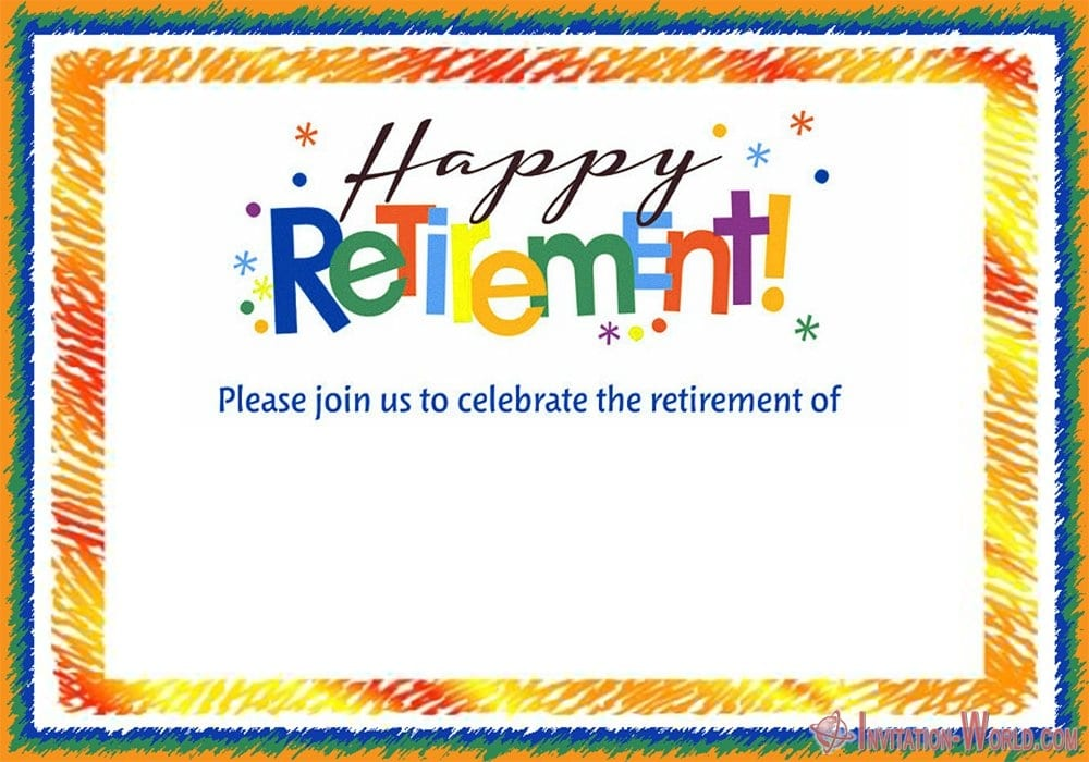 Retirement Party Invitation - Retirement Party Invitations