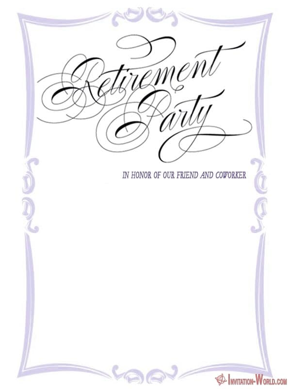Surprise Retirement Party Invitation - Retirement Party Invitations