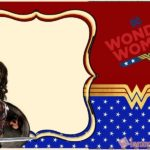Wonder Woman Invitation Card