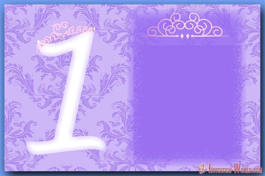 1st Birthday Party Invitation 300x200 - 1st Birthday Party Invitation
