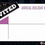 Annual Holiday Party Invitation