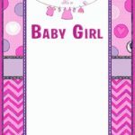 Baby Shower Invitation Template for Girls 150x150 - Baby Shower Invitation Template