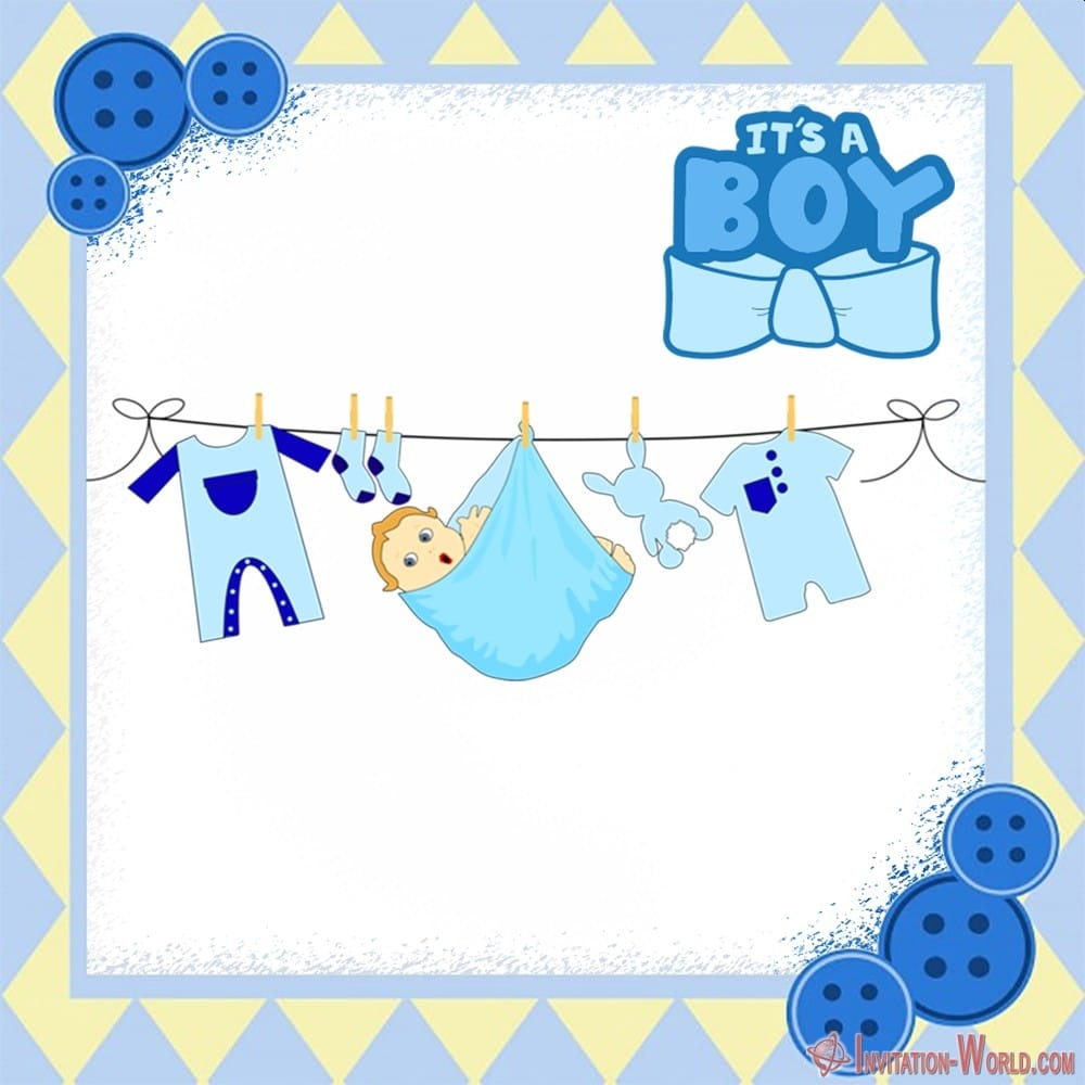 Baby shower invitation ideas for boy - 9+ Custom Baby Shower Invitations for Boys