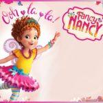 Blank Fancy Nancy invitation template