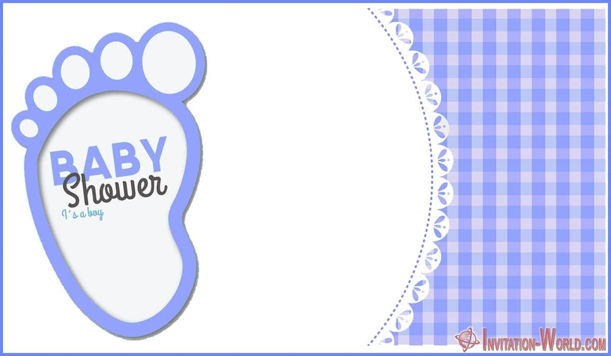 Boy Baby Shower Invitation Card 1200x700 - 9+ Custom Baby Shower Invitations for Boys