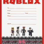 Custom Roblox Invitation Template