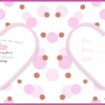 Cute Pink Baby Shower Invitation Card 150x150 - Baby Shower Invitation Template