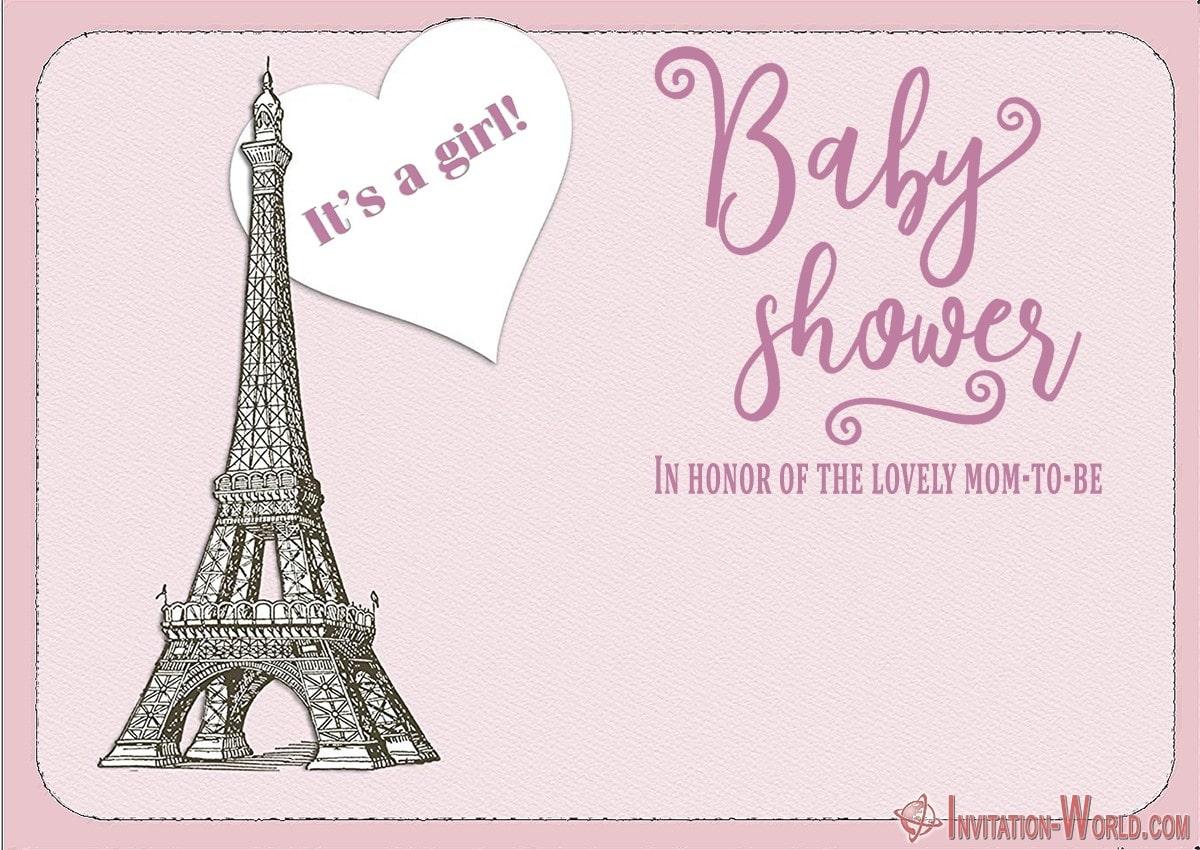 Editable Baby Shower Invitation Card 150x150 - Free Baby Shower Invitation Template Pink