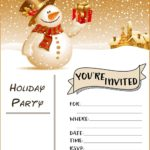 FREE Invitation Template 150x150 - Editable Invitation