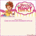 Fancy Nancy party invitations template 150x150 - Free Printable Fancy Nancy Invitation