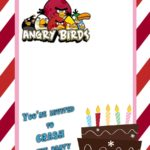 Free Angry Birds Birthday Invitation