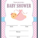 Free Baby Shower Invitation Template Pink 150x150 - Free Editable Baby Shower Invitation Template