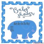 Free Baby Shower Invitation for boy