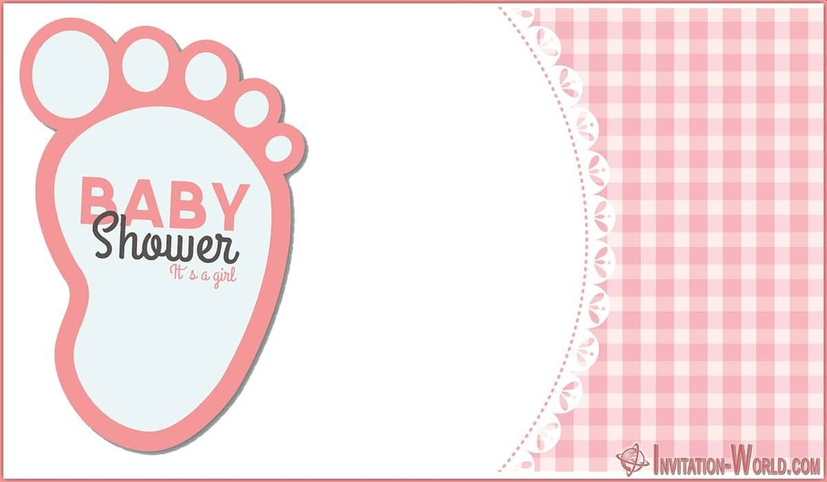Free Editable Baby Shower Invitation Template 1200x700 - Baby Shower Invitations for Girls - 12 Unique Templates