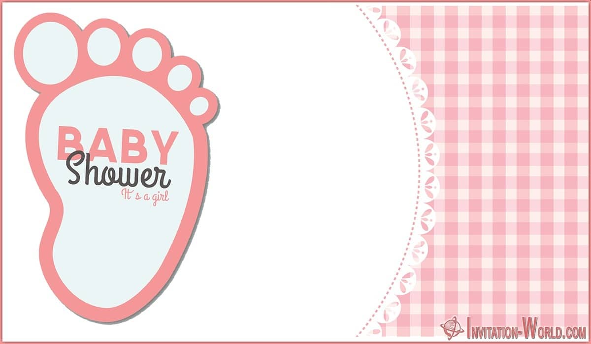Free Editable Baby Shower Invitation Template 150x150 - Free Printable Shower Invitation