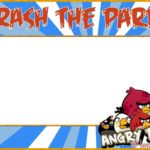 Free Printable Angry Birds Invitation