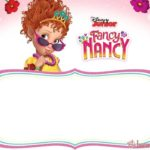 Free Printable Fancy Nancy Invitation