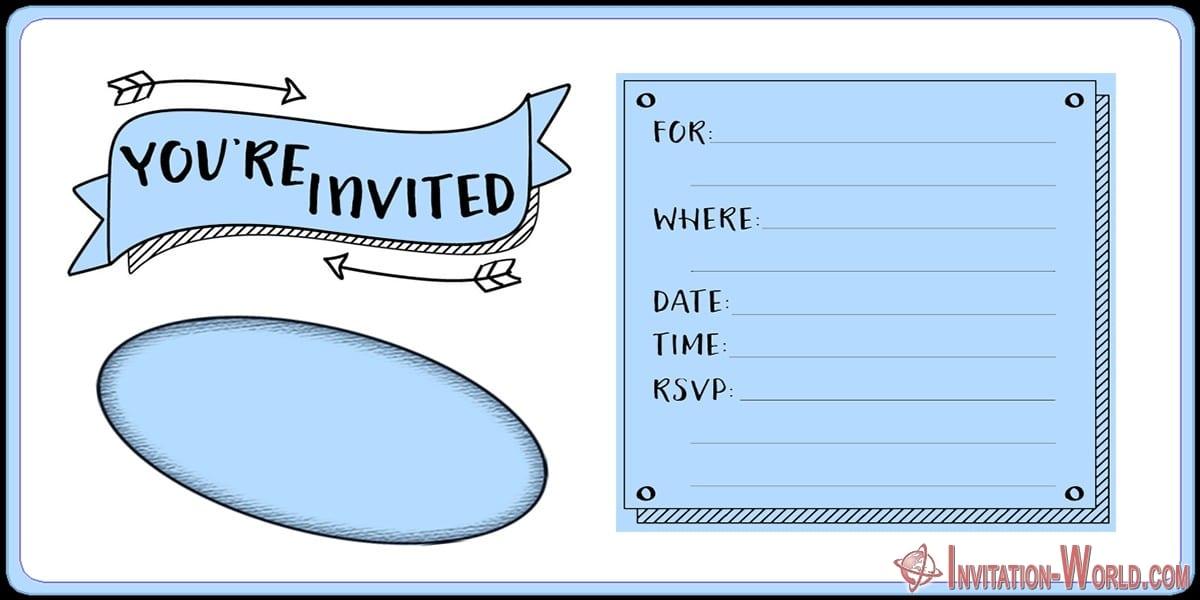 Free Printable Holiday Party Invitation - Free Printable Holiday Party Invitation