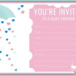 Free Printable Shower Invitation 150x150 - Free Editable Baby Shower Invitation Template