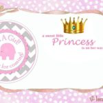 Little Princess Shower Invitation 150x150 - Its a Girl Free Template for Baby Shower