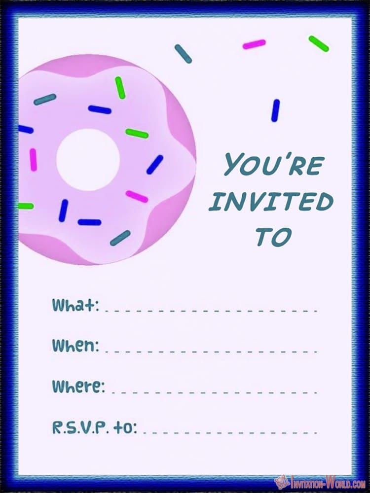 Party Invitation Template - Party Invitation Template
