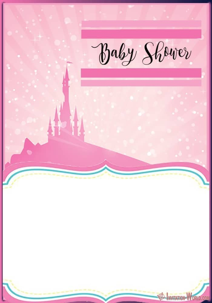 Printable Baby Shower Template - Baby Shower Invitations for Girls - 12 Unique Templates